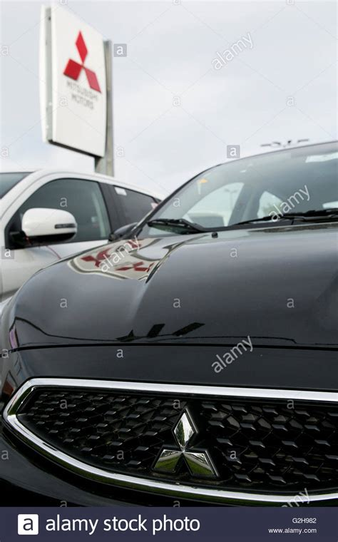 Mitsubishi Dealers In Maryland by Burnie Stock Photos Burnie Stock Images Alamy