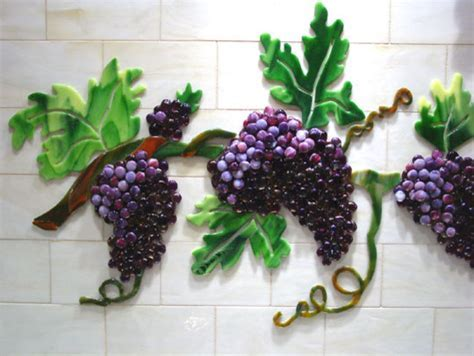 Grapes & Vines Backsplash