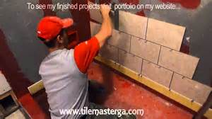 part quot 2 quot how to tile shower stall or tub walls where to