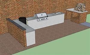 Küchenzeile Selber Bauen : die m mmis bauen einen neuen grillsportplatz mit monolith und fire magic gasgrill seite 4 ~ Markanthonyermac.com Haus und Dekorationen