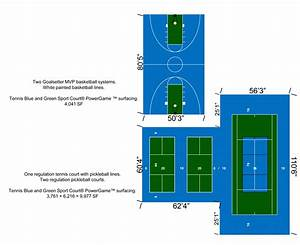 Pickleball Court Dimensions Diagram  U2014 Untpikapps