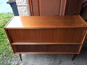 Meuble Platine Vinyle Vintage : meuble vintage platine disque les vieilles choses ~ Teatrodelosmanantiales.com Idées de Décoration