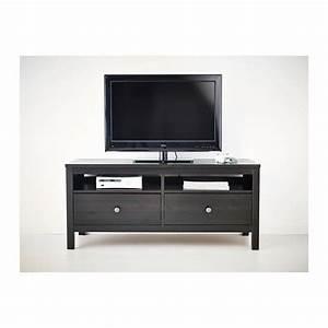 Meuble Tv Noir Ikea : hemnes meuble t l ikea le bois massif pr sente un aspect naturel larges tiroirs permettant d ~ Teatrodelosmanantiales.com Idées de Décoration