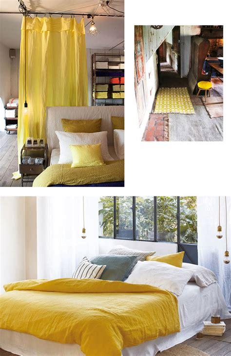 zoom sur le jaune citron blueberry home