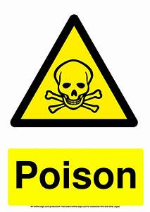 Daily Food Diary Chart Hazard Warning Signs Poster Template