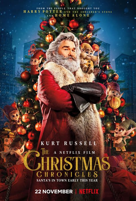 Watch New Trailer For Netflixs The Christmas Chronicles