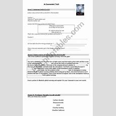 An Inconvenient Truth (documentary By Al Gore) Worksheet  Esl Worksheet By Rpber