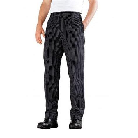 pantalon de cuisine noir bragard