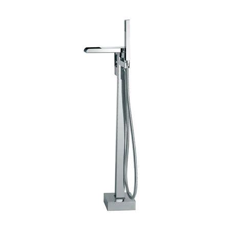 floor mount faucet ove decors sutherland 1 handle floor mount tub