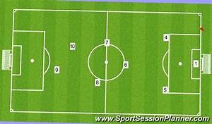 Football  Soccer  8v8 Playing Out From The Back  Tactical