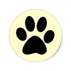 cat paw vs paw cat paw print sticker on popscreen