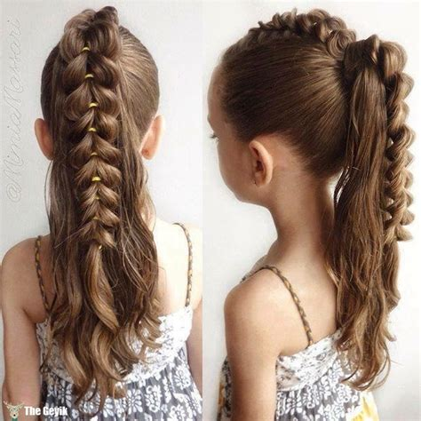 fancy  girl braids hairstyle page