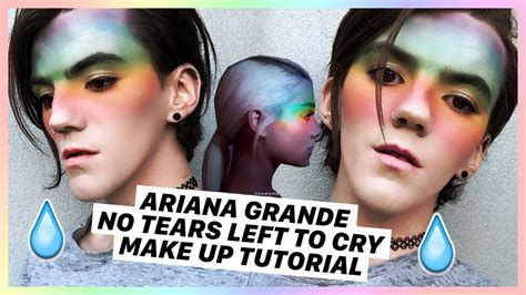 Ariana Grande No Tears Left To Cry Make Up Tutorial