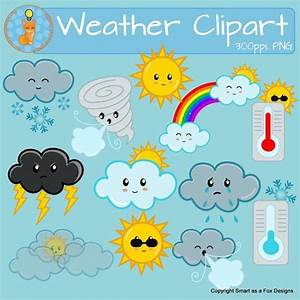Weather Clipart Sunny Snow Cloudy Windy Rain Tornado ...