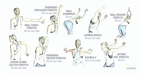 easy wall stretches  fix tight shoulders gentle feel good