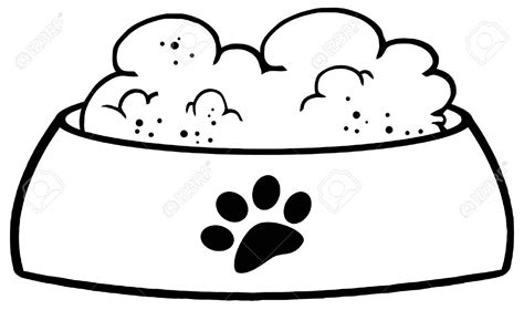 Dog dish clipart - Clipart Collection | Dog bowl clipart ...