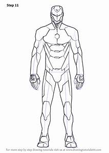 Iron Man Suit Design Coloring Pages