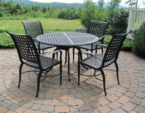 choosing a suitable wrought outdoor dining sets iron