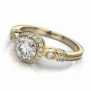 Vintage style engagement rings ring settings wedding s for In style wedding rings