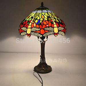 12 inch dragonfly stained glass lampshade tiffany table for 6 inch table lamp