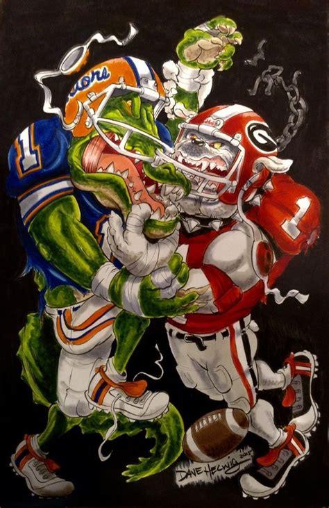 dave helwigs georgia bulldogs football art