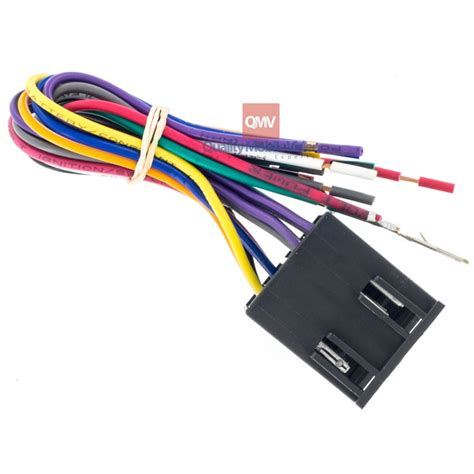 European Wiring Harnes by Metra 70 9401 Car Stereo Wire Harness For 1994 2010