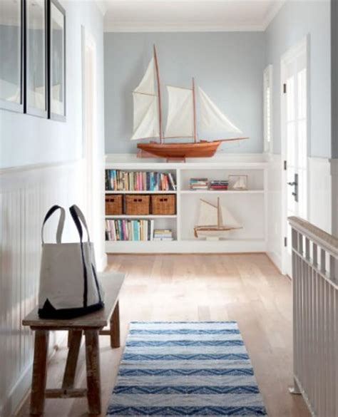 Nautical Decor by 10 Vibrant Coastal Hallway Interior Design Ideas Https