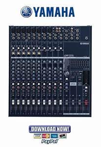 Yamaha Emx5014c Mixer Service Manual  U0026 Repair Guide