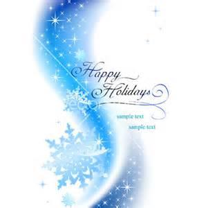 Happy Holidays Vector Free