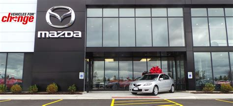 dealer mazda mazda and vehicles for change award 37 cars to families