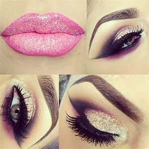 glitter pink and black smokey eye | Eyes Only | Pinterest ...