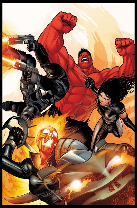 Marvel Resurrects The New Fantastic Four With X23, Red
