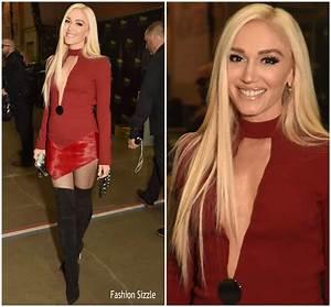 Gwen Stefani In David Koma 2018 ACM Awards Fashionsizzle