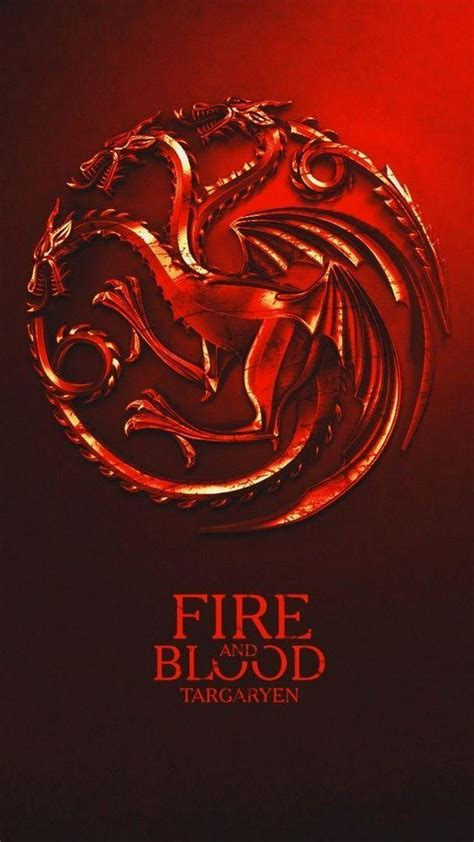 house targaryen game  thrones iphone wallpaper