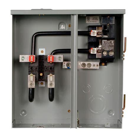 Siemens Amp Space Circuit Meter Socket Main
