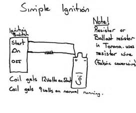similiar simple ignition wiring diagram keywords parison chart on basic chevy ignition wiring diagram