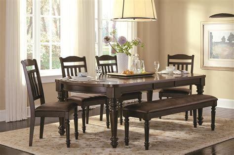 mulligan country style table  chair set  bench