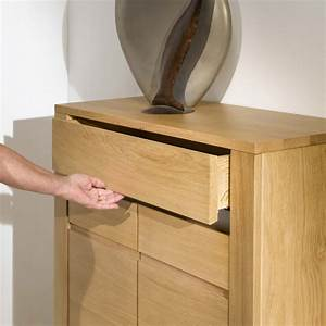 Meuble En Chene Massif : meuble d 39 appui en ch ne massif ~ Dailycaller-alerts.com Idées de Décoration