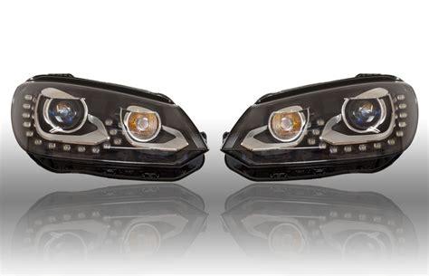 bi xenon scheinwerfer bi xenon scheinwerfer set led tfl f 252 r vw eos 2012