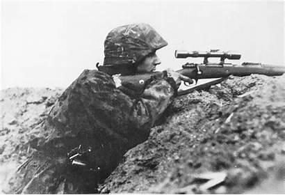 War Sniper Ss Waffen German Dutch Eastern