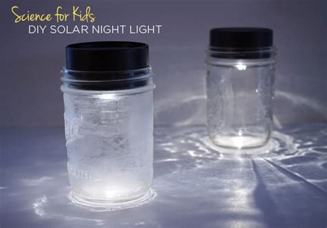 jar solar lights for tinkerlab