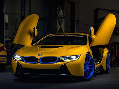 turner motorsport s new bmw i8 project is already equipped with a of h r special springs lp