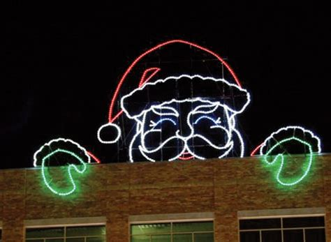 6 crazy and outrageous christmas rooftop decorations
