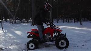 2014 Honda Trx 400ex Features