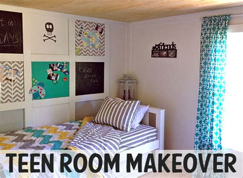 Teen Girl Room Makeover-the Shabby Creek Cottage