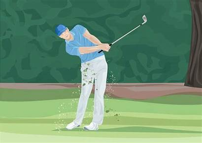 Golf Swing Release Loop Put Clubs Theleftrough