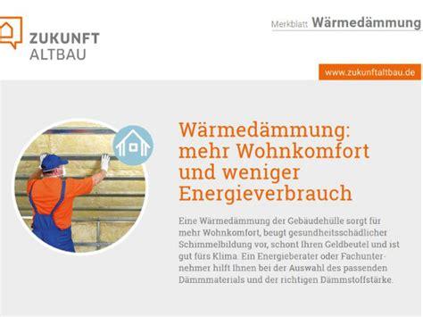 Merkblatt Waermedaemmung by Fassadend 228 Mmung Was Stimmt Wirklich Energie Fachberater