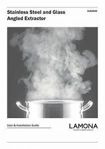 Lamona Angled 90cm Chimney Extractor