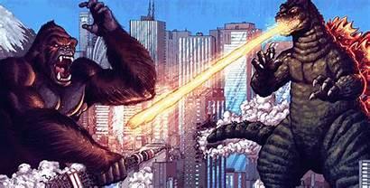 Godzilla Kong King Titans Clash Nerdophiles Chan
