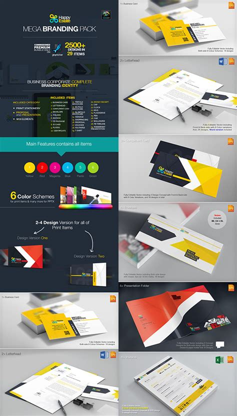 corporate brand identity packageswith creative designs